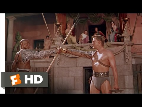 Spartacus (4 9) Movie Clip - Fight To The Death (1960) Hd video