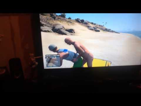 Gta Online Old Man Sex On The Beach video