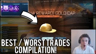 BEST AND WORST TRADES IN ROCKET LEAGUE! (COMPILATION)