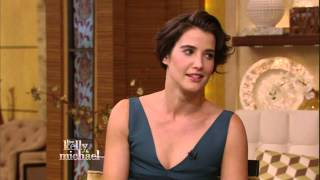 Cobie Smulders - gorgeous - Kelly Ripa show interview - November 15, 2013