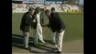 July 2003: Bangladesh in Australia, 1st Test Day 1