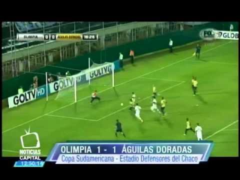 Águilas sacó valioso punto en Paraguay frente a Olimpia