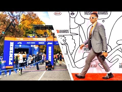 NYC Marathon vs  YouTube Music Awards