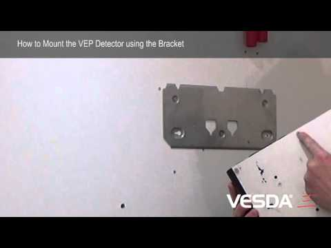 VESDA-E VEP: Mounting Detector using Bracket