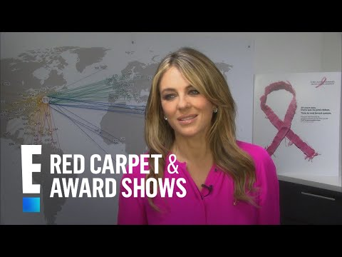 Elizabeth Hurley Talks 25th Anniversary of Pink Ribbon | E! Live from the Red Carpet thumbnail