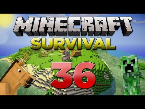 Minecraft Xbox: Survival Lets Play - Part 36 [XBOX 360 EDITION] THE Slime Hunt - W/Commentary