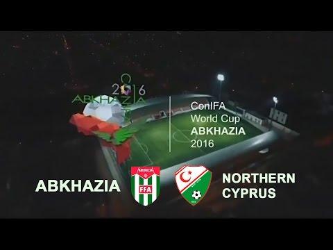 Чемпионат Мира по футболу ConIFA 2016. Северный Кипр — Абхазия. Полуфинал. 04.06.2016