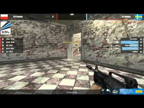 IEM6 WC: półfinał - ESC Gaming vs. SK Gaming - de_mirage