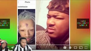 XXXTentacion Explains His New Transformation Look! REACTION!!
