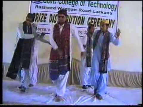 Jiyee Sindh Jiyee Ahmed Mughal Song Students Dancing at Govt...