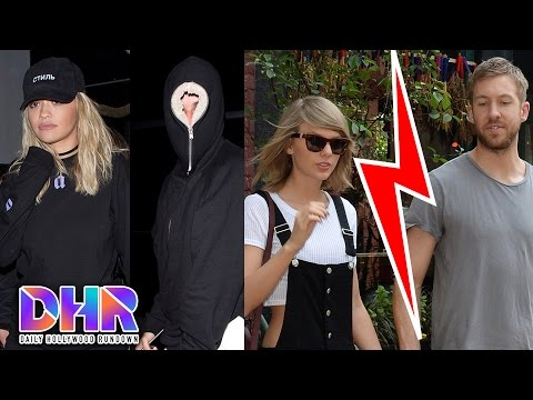 Calvin Harris Breaks Up WIth Taylor Swift DETAILS- Justin Bieber Date Night With Rita Ora (DHR)