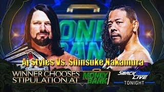 WWE: AJ Styles Vs Shinsuke Nakamura (Lucha de ensueño)