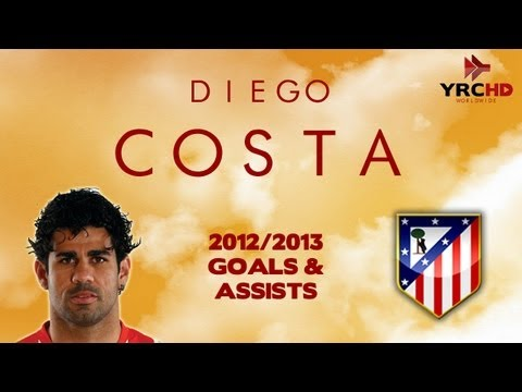 Diego COSTA - Goals, Skills, Assists | Atlético Madrid | 2012/2013 | HD