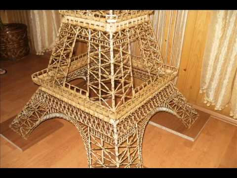 The Eiffel Tower made from Matchsticks - Ajfelov Toranj