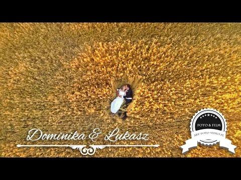 Dominika & Łukasz - Teledysk ślubny - Sala Weselna  : Klimtówka , Wolbrom Www.art-foto-video.pl