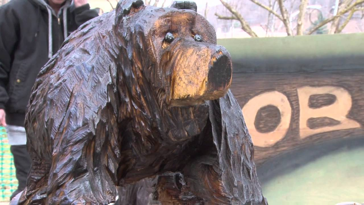 Ridgway chainsaw carvers rendezvous recap video youtube