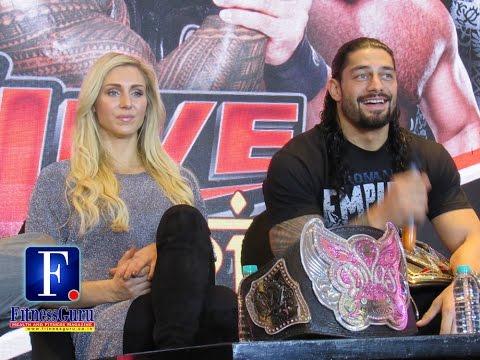 WWE Live India Press Conference in Delhi. - FitnessGuru