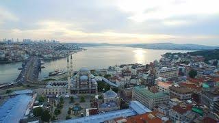 Sana Dün Bir Tepeden Baktım Aziz İstanbul  (İstanbul'u Birde Havadan Izleyin)
