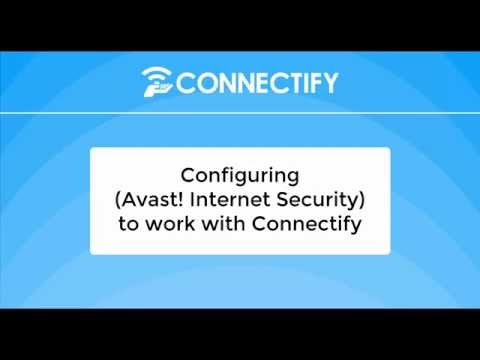 avast connectify