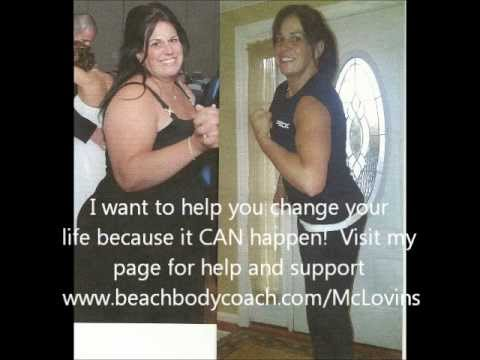 P90X RESULTS - Female Transformation Challenge winner 136lbs lost in 12 months!