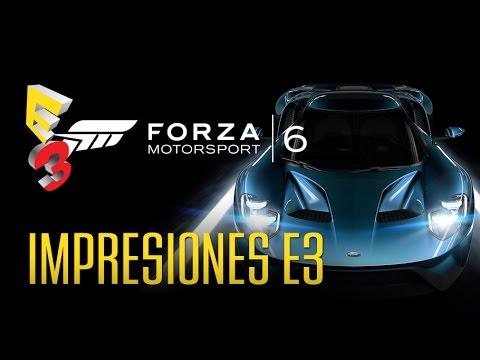 FORZA 6: ¿El mejor juego de conducción? E3 2015