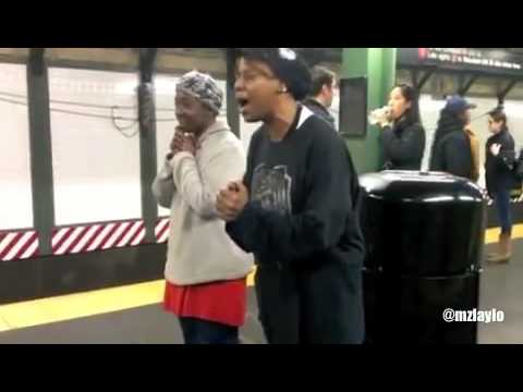 NEW York Subway Gospel singers