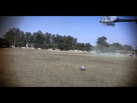 VFX Test Funny Helicopter Crash (MatchMoving + Compositing) Camera Used = iPad 2