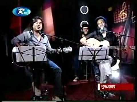 Partho - Brishti Dekhe Onek Kedechi (acoustic Shondha) video