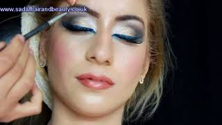 walima (Reception ) makeup by sadaf wassan