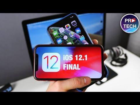 Полный обзор iOS 12.1 Финал! Что нового? Скорость? Время работы?