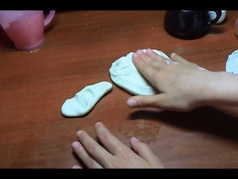 Как сделать пластилин своими руками из гуаши