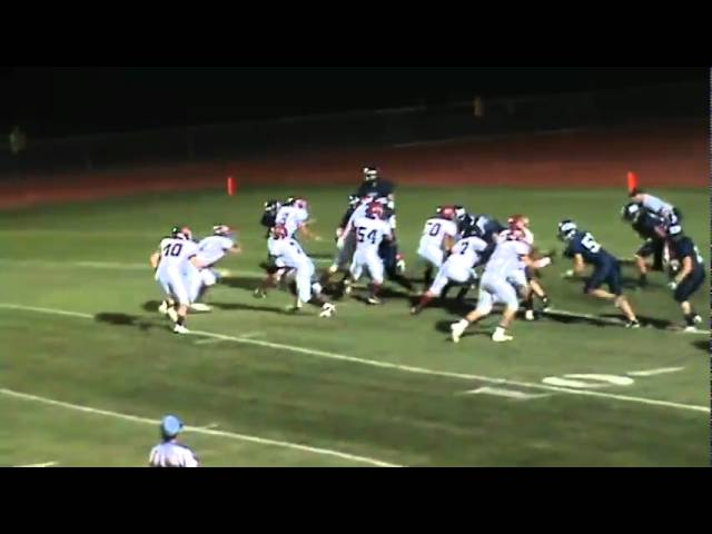 10-1-10 - Joe Rosenbrock gives Brush their first lead (Brush 13, Platte Valley 8)