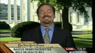Morning Joe - Willie Geist's Pearl Necklace