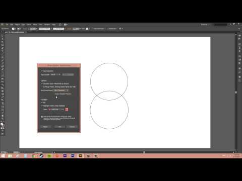Adobe Illustrator CS6 for Beginners - Tutorial 26 - Using the Shape Builder Tool
