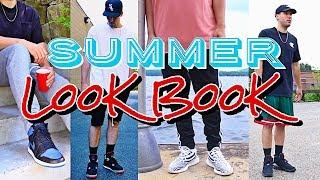SUMMER LOOKBOOK! ADIDAS - YEEZY - JORDAN RETRO - STUSSY - CHAMPION - FOG - MITCHELL & NESS