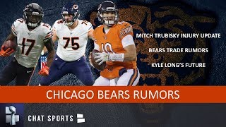 Chicago Bears Rumors: Kyle Long Injury, Mitch Trubisky Injury Update, Trade Rumors & Anthony Miller