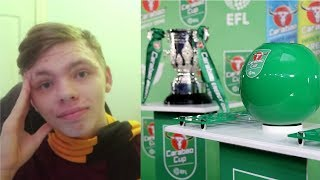 CARABAO CUP 1st ROUND DRAW - Live Reaction!