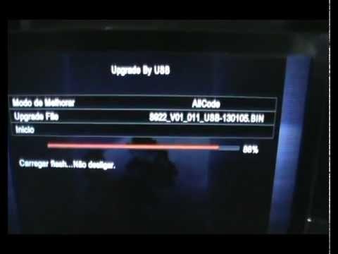 Azamerica S922hd liso em sks com a atualização do dia 05/01/2013