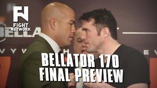 Bellator 170: Ortiz vs. Sonnen Final Preview
