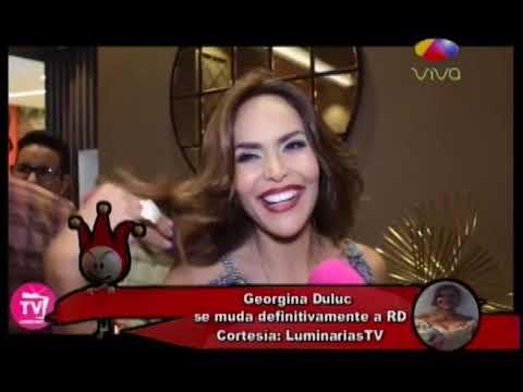 Georgina Duluc se muda definitivamente a RD tras el paso de Maria por Puerto Rico