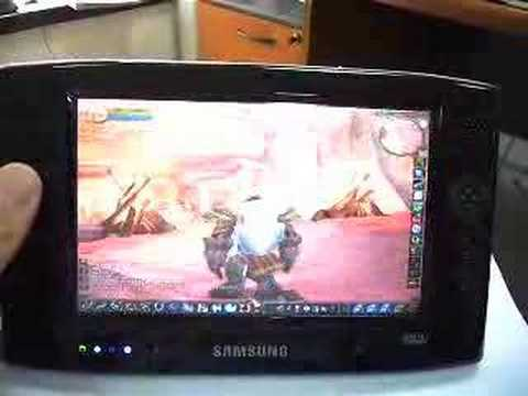 Samsung Q1 : World of Warcraft Video