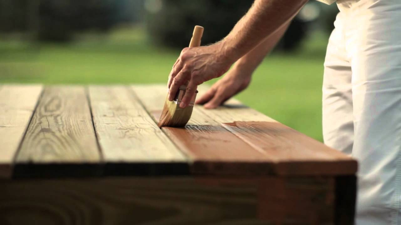 How To Apply Wood Stain Wood Stain Tips Cabot Youtube