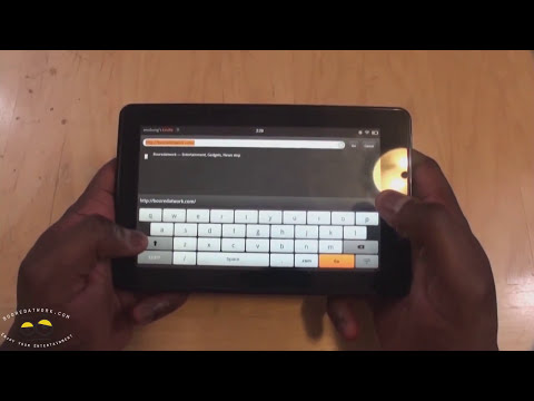 Kindle Fire OS & Silk Browser  Walkthrough