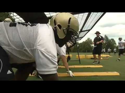 The 2011 edition of the Wofford Terriers football team began work for the upcoming season with a pair of workouts Monday. The day began at sunrise with condi...