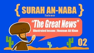 Surah An Naba (The Great News) Complete Tafsir | illustrated | Part 02 | Subtitled