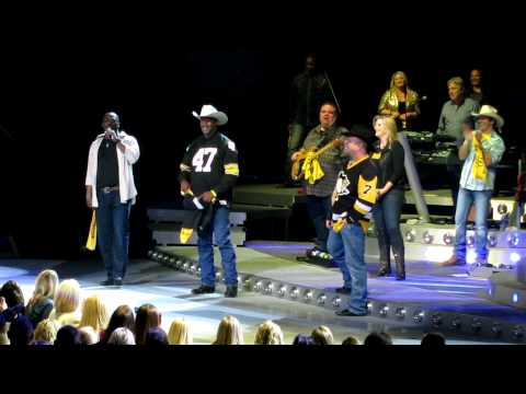 Garth Brooks-Pittsburgh Steelers Birthday Surprise