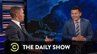 The Truth About Ronny Chieng's Accent - Between the Scenes: The Daily Show