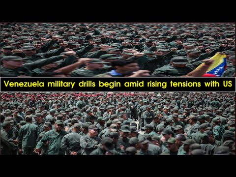 Massive military drills in Venezuela as govt stands up to perceived US threat (VIDEO)