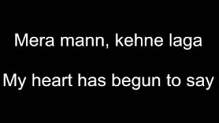 Mera Mann Kehne Laga Song with Hindi Lyrics and English translation   Nautanki Saala