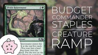 Budget Commander Staples - Creature Ramp | Ramp | Top 10 | Magic the Gathering | EDH